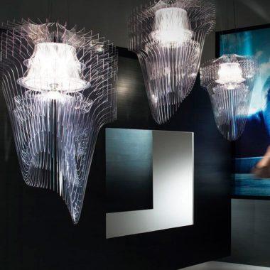 Светильник Aria Transparent Slamp купить в Минске