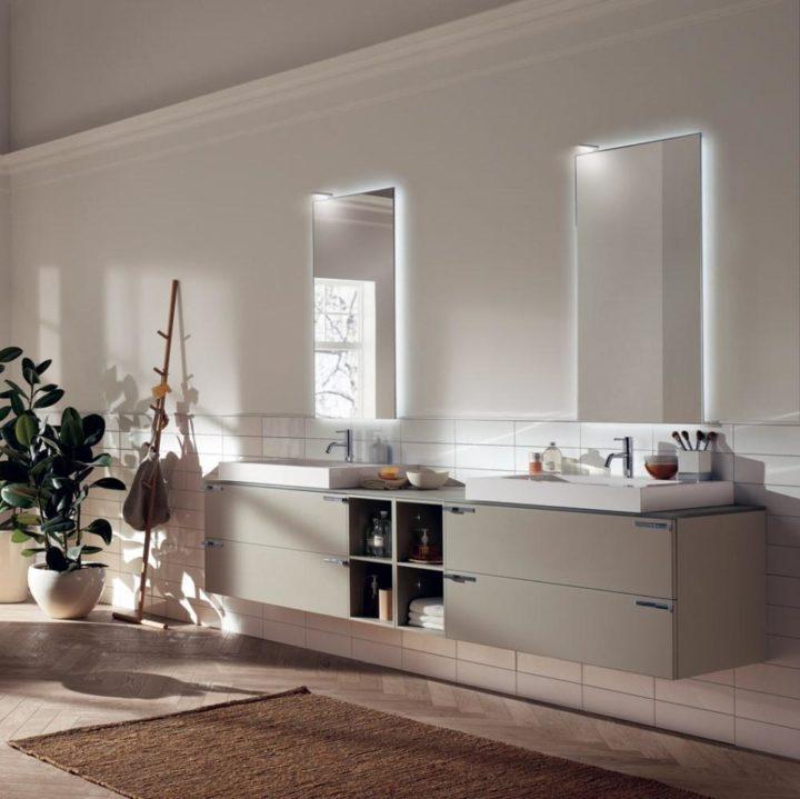 Мебель для ванной Aquo Scavolini купить в Минске