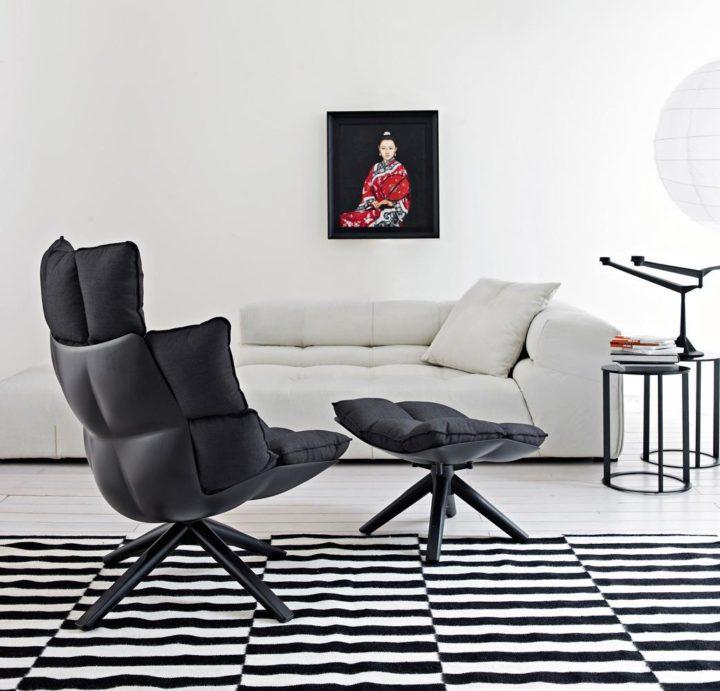 Кресло Husk B B Italia купить в Минске