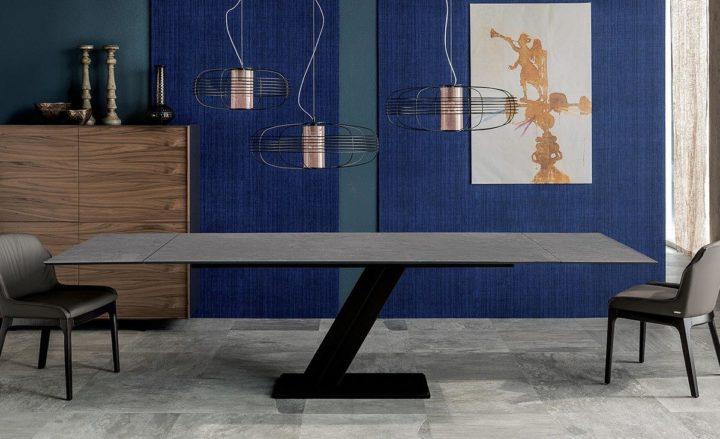 Раздвижной стол Zeus Keramik Drive Cattelan Italia купить в Минске